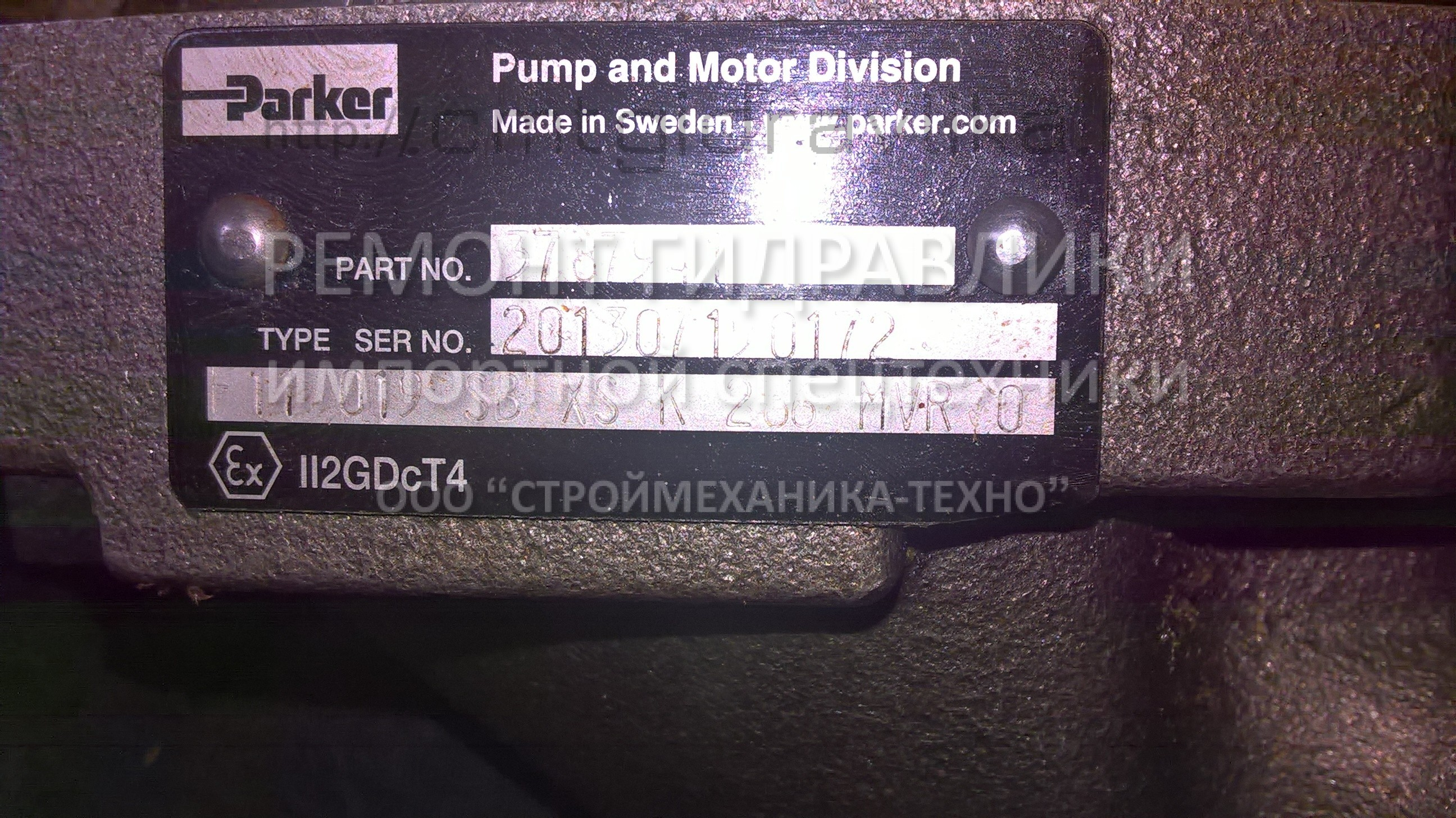 Parker pump and Motor Division